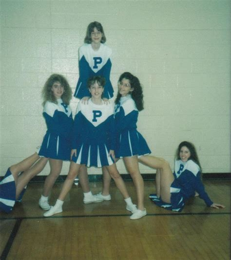 1980 cheer hair styles 80s high school cheerleaders before they were stars 15