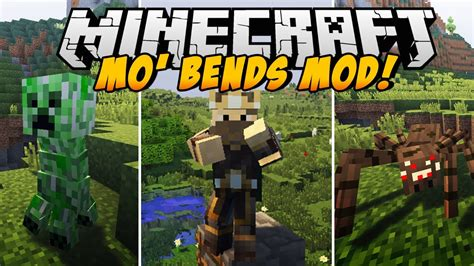 minecraft better animations mod minecraft mods better animations mod mo bends mod