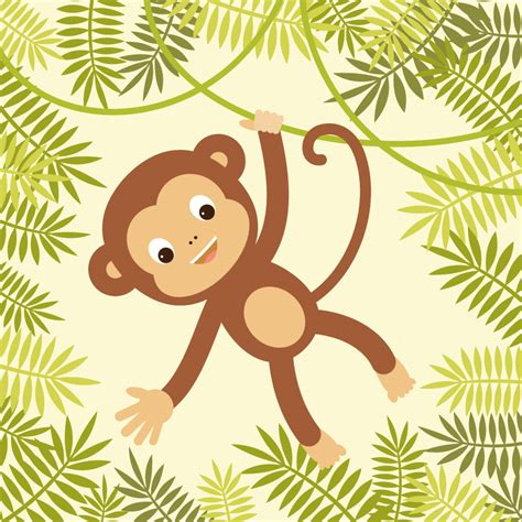 illustrator jungle tutorial how to create a hanging monkey illustration in adobe