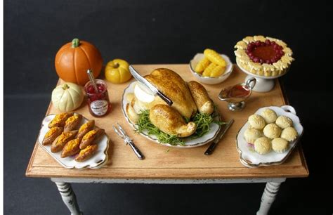 dolls house food 68 best thanksgiving in miniature images on pinterest dollhouses miniature food and doll houses
