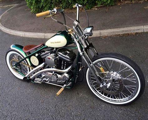 Chopper Motorrad Harley by Best 25 Sportster Chopper Ideas On Pinterest