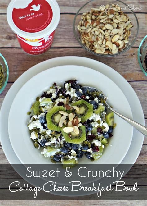healthy cottage cheese healthy breakfast ideas cottage cheese breakfast bowl