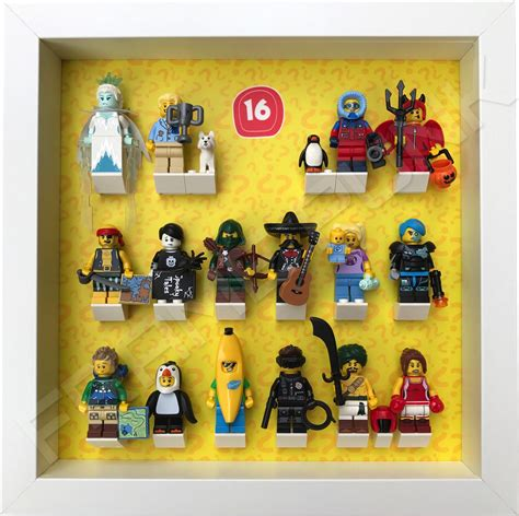 Lego Minifigures Series 16 Hiker 1 lego minifigures series 16 display frame frame