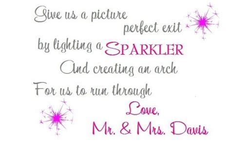 Diy Sparkler Sendoff Signs Weddingbee Photo Gallery Diy Wedding Signs Templates