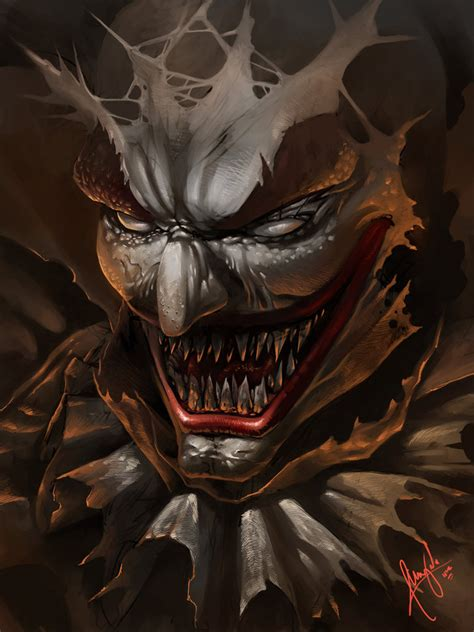paint deviantart clown speed paint by wizyakuza on deviantart