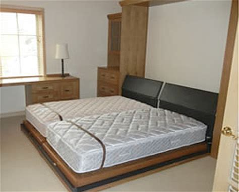 do 2 twin beds make a queen or king size murphy beds 100 custom king murphy beds by