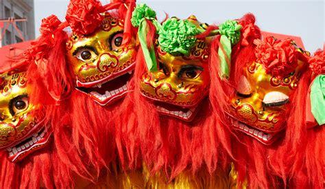 new year lions china