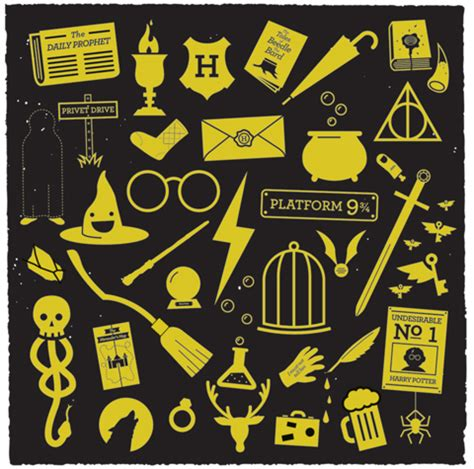 harry potter designs he s got a million of them 7 great designs by greg christman