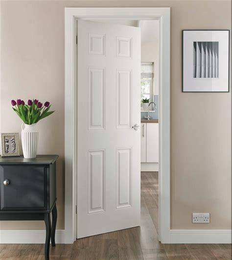howdens interior doors 6 panel smooth door moulded panel doors doors