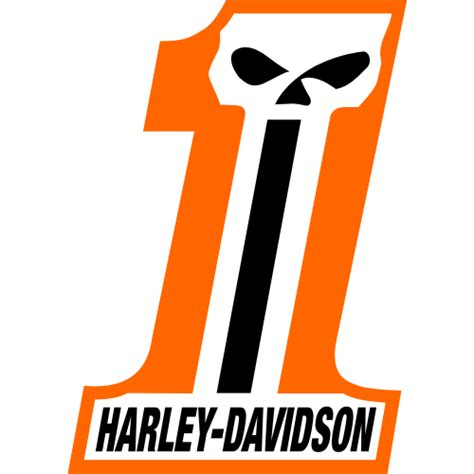 Emblem Logo Harley Davidson Nomor 1 Number One number one harley logo pictures to pin on