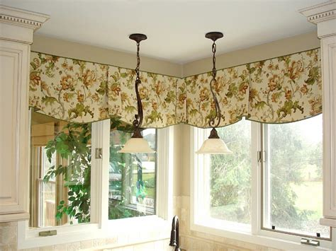 kitchen window valances ideas swag curtain valance ideas window treatments design ideas