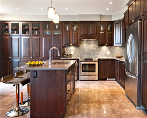 Wood Kitchen Design 10 Black Wood Kitchen Cabinets Designs