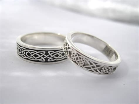 materialise creativity celtic knots wedding bands
