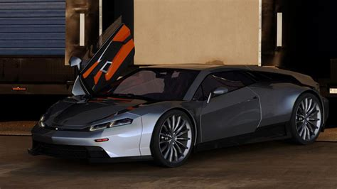 Delorean Dmc 12 Concept by Dmc Concept Takes Delorean Back To The Future W