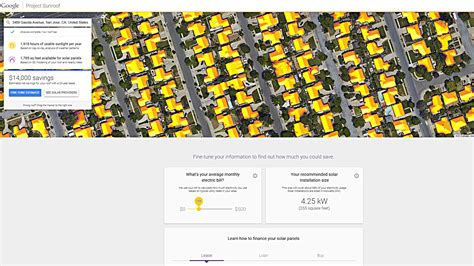 google announces project sunroof to help power the world google sunroof will map our houses solar potential