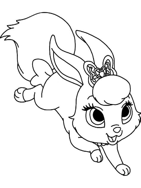 Disney Pets coloring pages for kids. Free Printable Disney