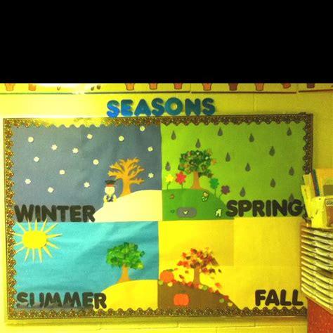 seasons bulletin board bulletin board ideas seasons season change and is