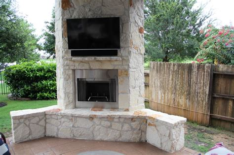 Patio Covers With Fireplace Outdoor Living Project Patio Cover With Fireplace