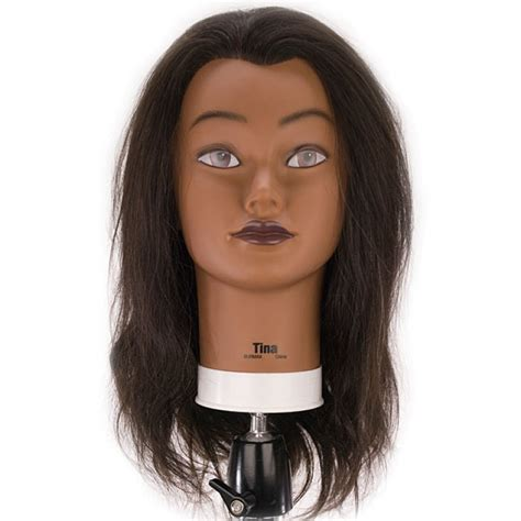 Cosmetology Human Hair Mannequin Heads by Tina 21 Quot Ethnic 100 Human Hair Cosmetology Mannequin