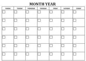 picture calendar template blank monthly calendar template calendar picture templates