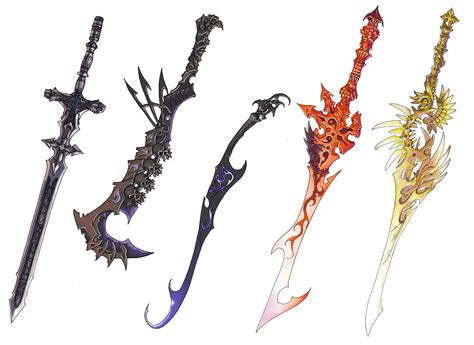 sword designs by wen m on deviantart