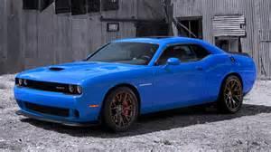 dodge challenger hellcat blue wallpaper 2048x1152 32476