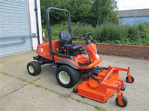 Kubota F3680 Diesel 4wd Out Front Ride On Mower Lawn