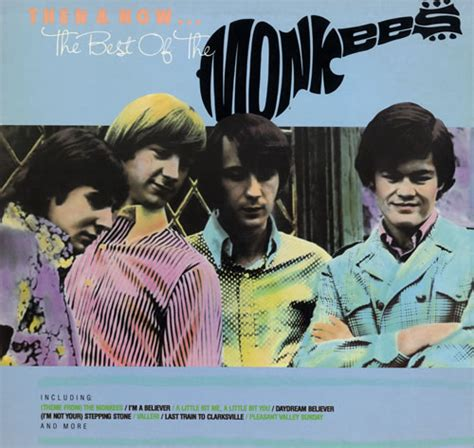 the best of the monkees the monkees then now the best of the monkees us vinyl