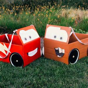 Lighting Mcqueen Car Box Mcqueen Mater Box Car Costumes Disney Family