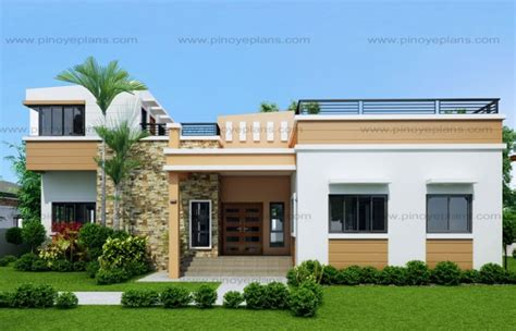 1 storey bungalow house design
