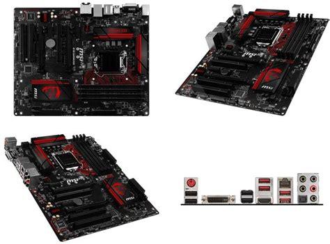 Motherboard Msi B150 Gaming M3 msi b150 gaming m3 motherboard alzashop