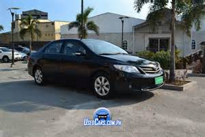 Used Automatic Car For Sale In Manila Second Toyota Corolla Altis 2013 For Sale Used Cars