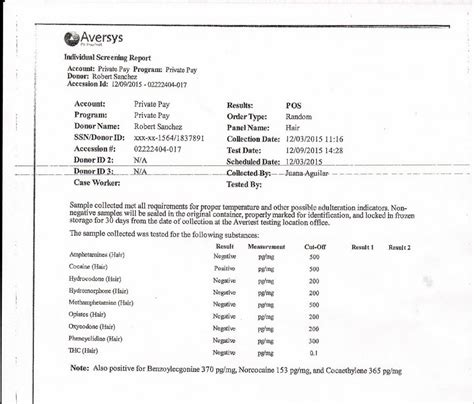Fake Std Test Results Form Forms 6993 Resume Exles Std Test Results Template