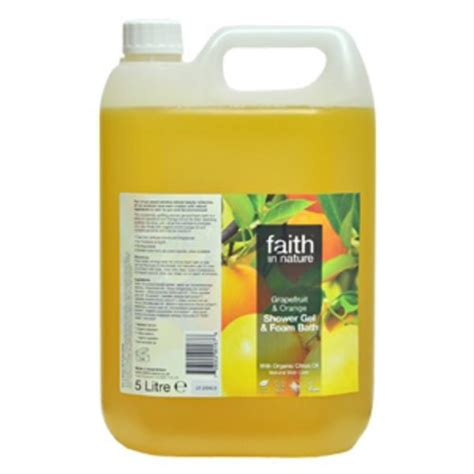 Buds Orange Shower Gel grapefruit and orange foam bath and shower gel in 5l from