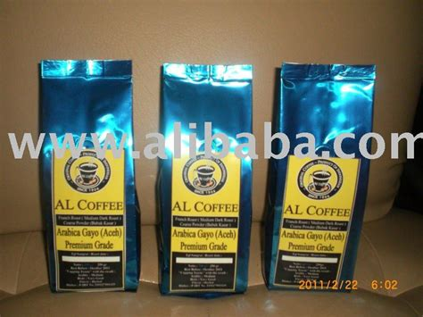 Exclusive Kopi Arabica Aceh Gayo 250 Gram Product arabica civet coffee products indonesia arabica civet coffee supplier