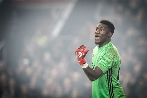 Ajax Address Lookup Andre Onana Ajax Sweeper Keeper Extraodinaire Ajaxdaily