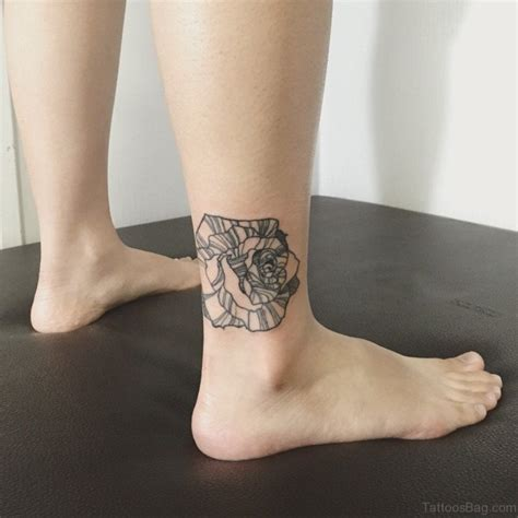 unique rose tattoo 41good looking tattoos for ankle