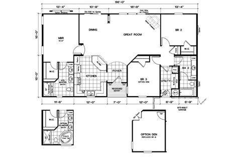 1998 oakwood mobile home floor plan modern modular home