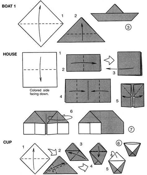 How To Make An Origami House Step By Step - origami house tutorial origami handmade