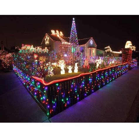 500leds 328ft multi color string fairy lights xmas tree