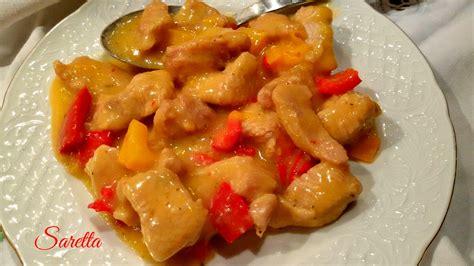 cucinare il petto di tacchino petto di tacchino con peperoni cucina con saretta