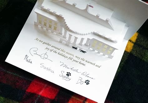 free template of white house pop up card la carte de voeux de la maison blanche