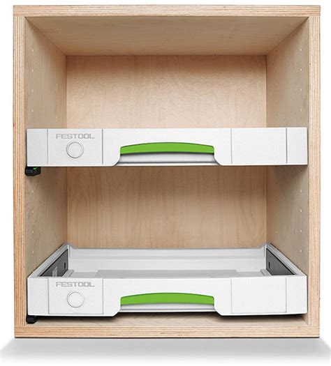 Building Cabinets With Festool by Festool Sys Az Systainer Drawers