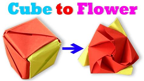 Origami Magic Cube Valerie Vann - how to make an origami magic cube valerie vann stey