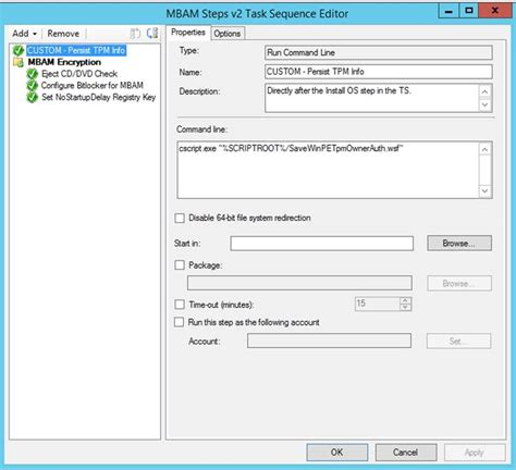 Mba M by Mbam And Bitlocker Pre Provisioning During Osd Kraft