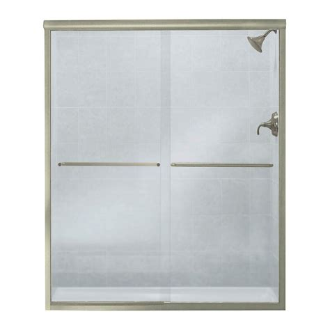 shower doors at home depot paragon sliding glass shower