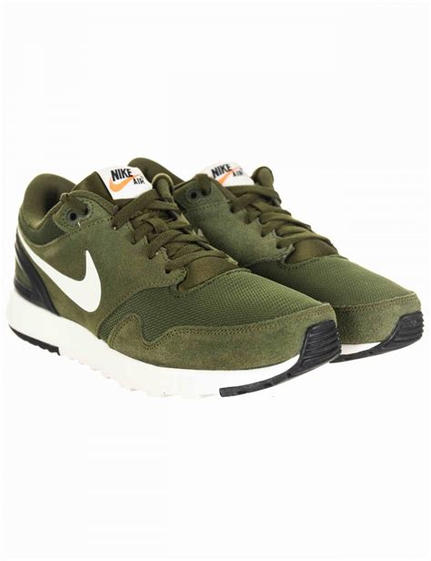 nike green sandals nike air vibenna shoes legion green sail footwear from