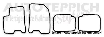 Fu Matten Auto Chevrolet Aveo by Auto Fu 223 Matten F 252 R Chevrolet Aveo Ab Baujahr 2008 4 Teilig