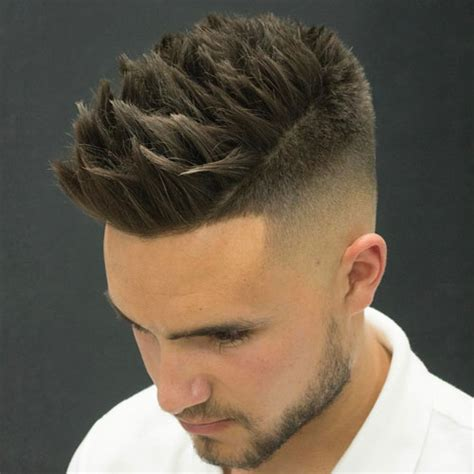 textured top faded sides 30 best haircuts for men 2017 men s hairstyles