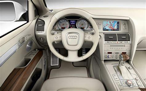 Q7 Interior by Audi Q7 Coastline Interior Wallpaper Hd Car Wallpapers